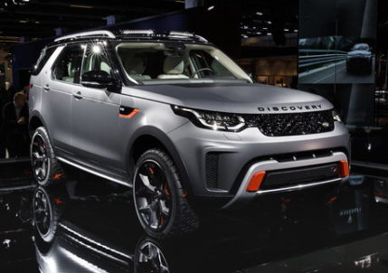 Discovery SVX makes first appearance at the 2017 Frankfurt Motor Show
