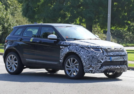 Range Rover Evoque PHEV under test