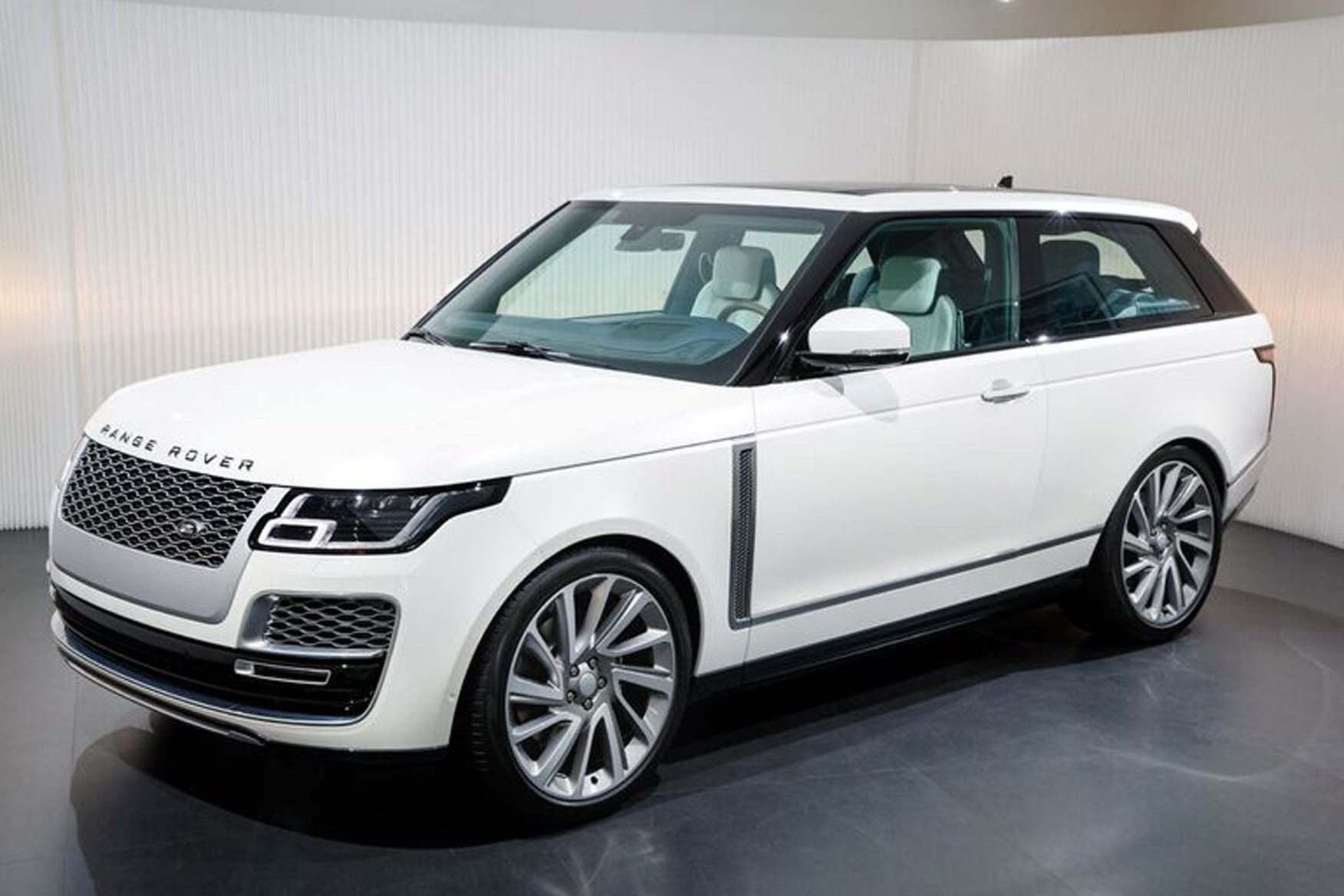 Land Rover Special Vehicle Operations introduce the Range Rover SV Coupe