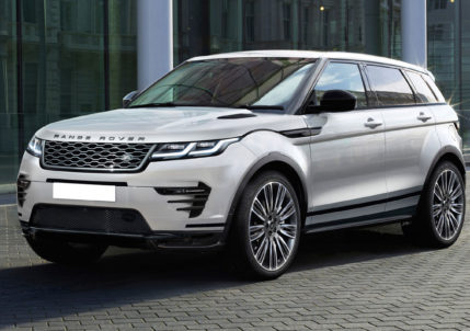 Upgraded Range Rover Evoque for 2019MY