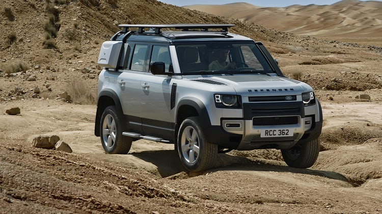 The new Land Rover Defender has arrived!